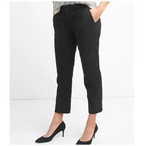 Gap Slim Cropped Bistro Pants True Black